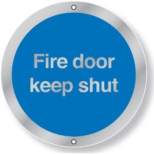 76mm Dia Fire Door Keep Shut