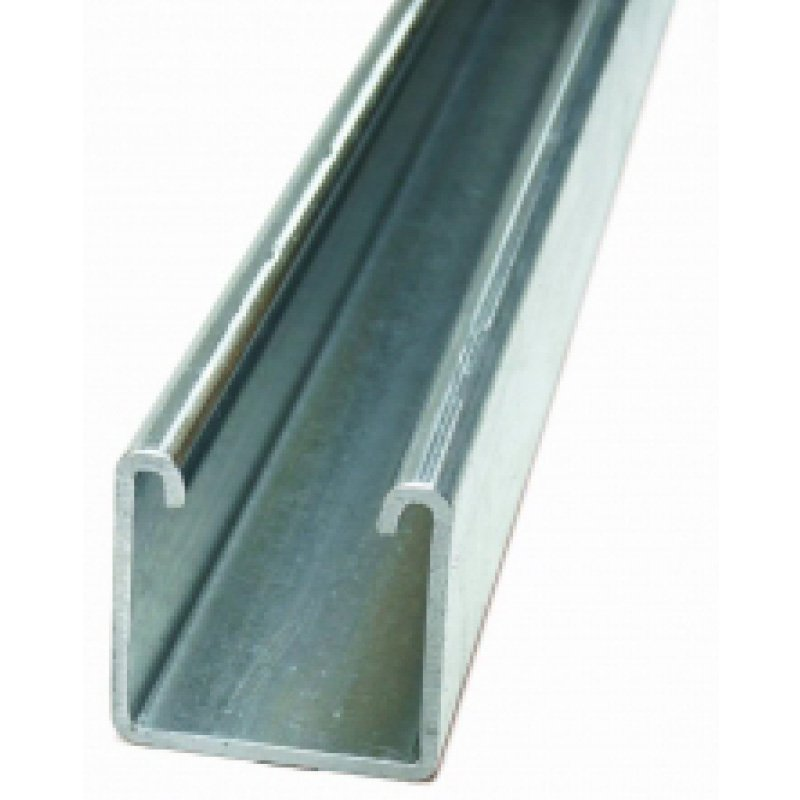 41mm Heavy Plain A4 Stainless Steel Channel -3m