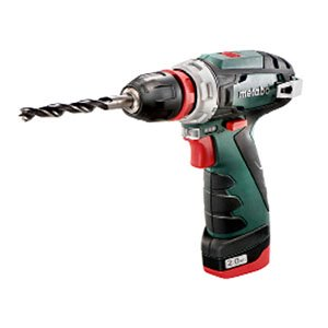Metabo PowerMaxx BS Quick Basic Drill/Driver (Quick chuck, 2 x 10.8V 2.0Ah, LC40 Charger, Carry case