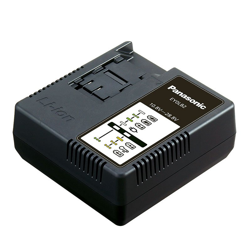 Panasonic EY0L82B31 14.4v - 28.8v Li-ion Charger (1.5Ah - 4.2Ah) for Li-ion ONLY batteries
