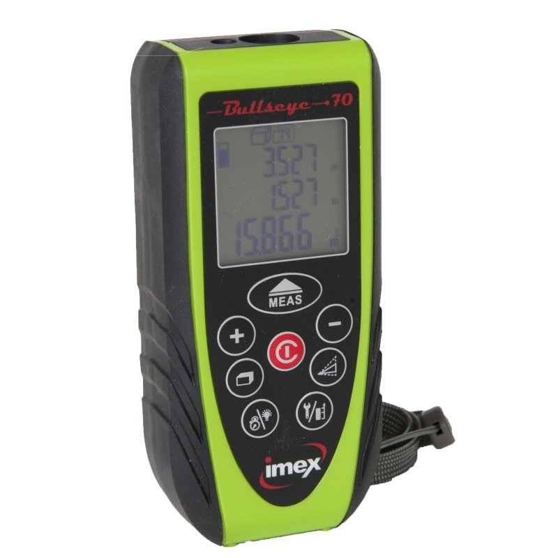 BE70 Imex Bullseye 80m Laser Distance Measurer