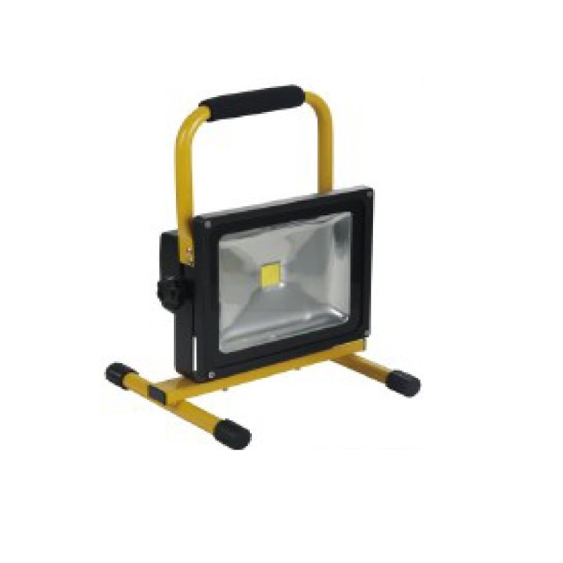 20W LED Rechargable Floor Flood Light 12v/240v