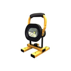 110V LED 6000 High Intensity Site Flood Light with Swing Leg Tripod - 30w