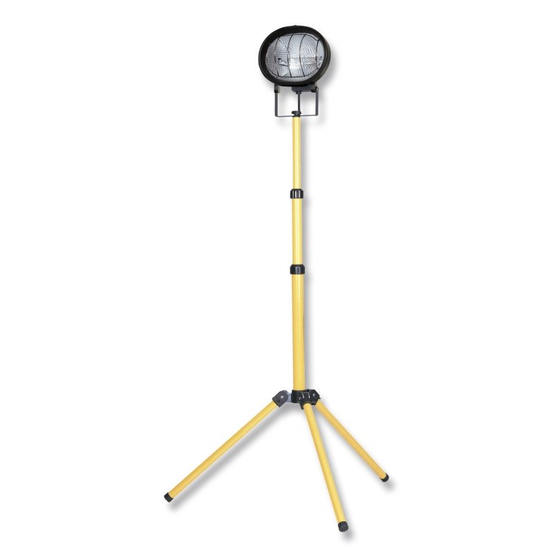 110V 500W Single Halogen Folding Tripod Light
