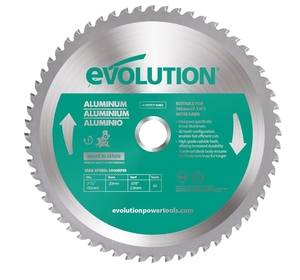 180mm 54T Evolution TCT Aluminium Cutting Blade