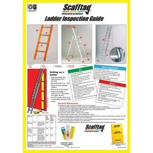 Scafftag Ladder Inspection Guide Wallchart