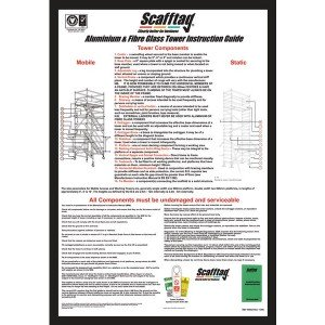 Scafftag Tower Inspection Wallchart