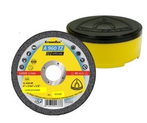 115x1.0mm Klingspor A960TZ SPECIAL Metal Cutting Disc Flat