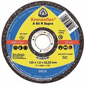 115x1.0x22mm Klingspor A60 R Supra Extra Thin Flat Cutting Disc