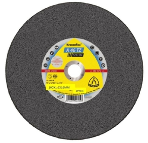100x1.6mm Klingspor A46TZSP Metal Cutting Disc Flat