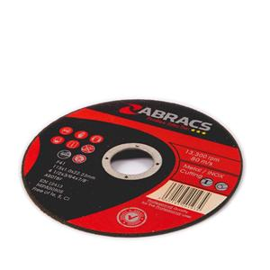 115x1.0x22mm Axxion Flat Thin Cutting Discs