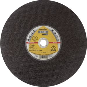 350x2.8x25.4mm Axxion Stationary Metal Cutting Discs Flat