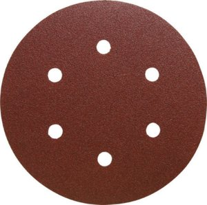150mm x GLS3 x 80g Hook and Loop Backed Abrasive Discs KLINGSPOR ONLY