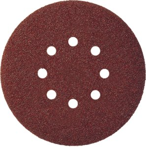 150mm 60g GLS7 Hook and Loop Backed Abrasive Discs