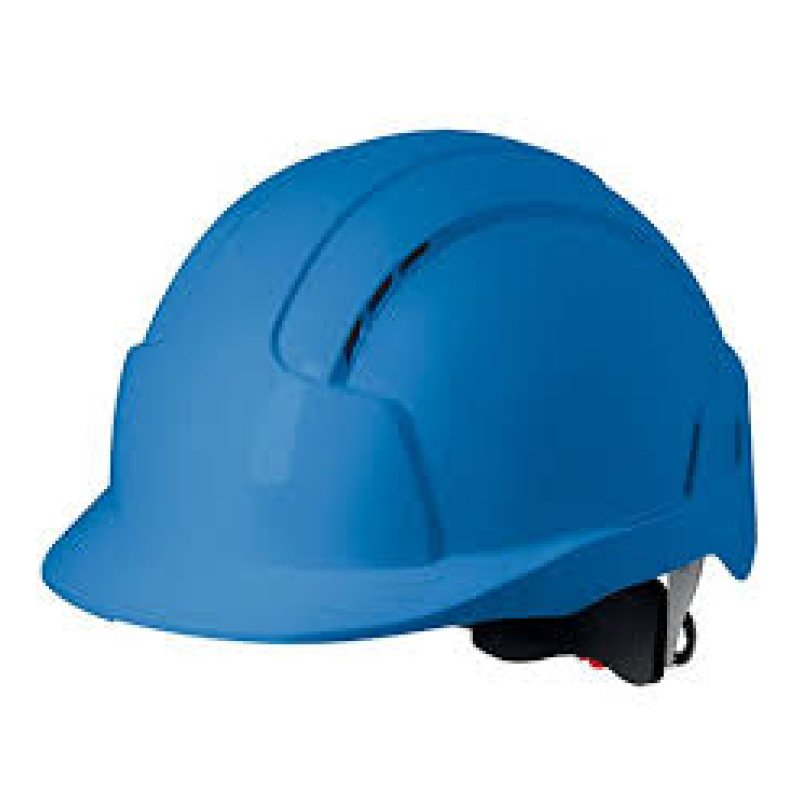 Blue EVOLite Mid Peak Vented Wheel Adjustable Helmet