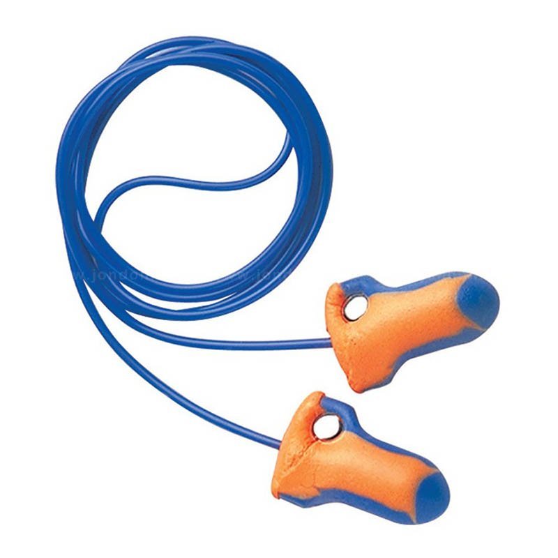 LASER TRAK Detectable Corded Ear Plugs