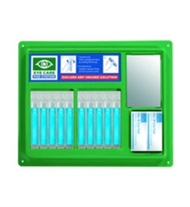Eyewash Pod Station  (8 x 20ml pods & 2 eye pads boxed)