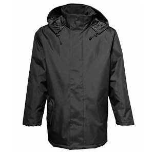 Medium Black Parka Jacket
