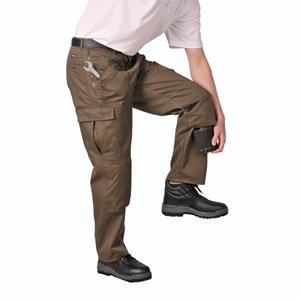 Action Work Trousers Olive Green 40