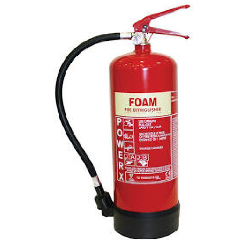 6 Litre FPF6 AFFF Foam Fire Extinguisher