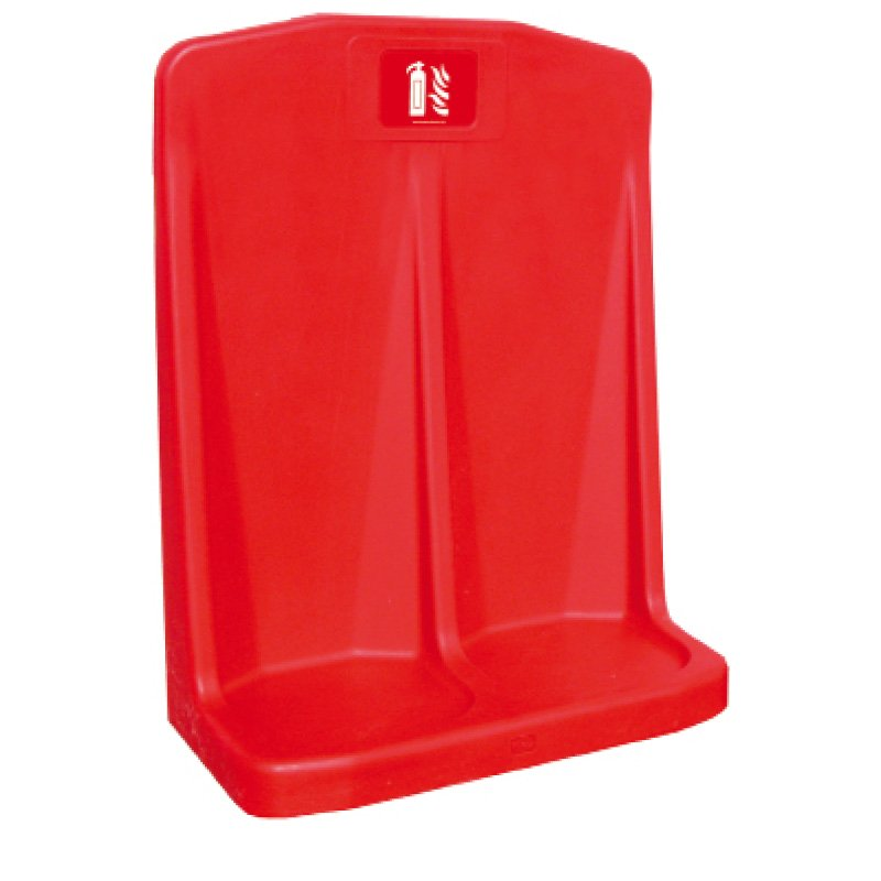FSD Premium Double Fire Extinguisher Stand