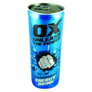 OX-ED1 OX Energy Drink - 250ml Cans
