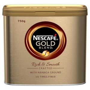 750g Nescafe 'Gold Blend' Golden Roast Coffee Granules