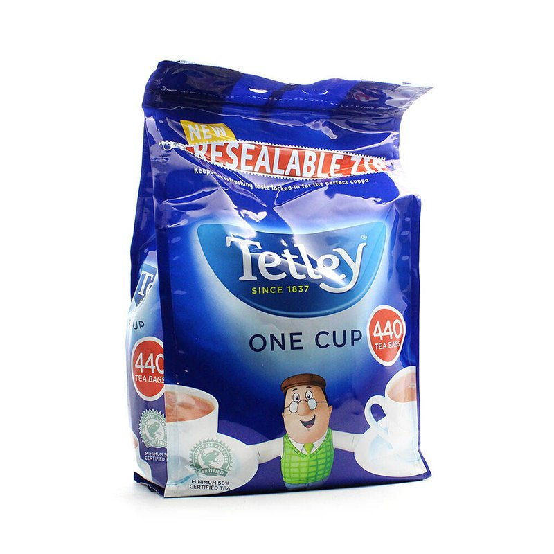 Tetley One Cup Teabags (Pack of 440)