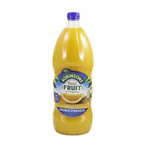 Robinsons Double Concentrate Orange Cordial Squash 1.75l