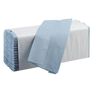 Blue C-Fold Hand Towels 1 Ply - (Case of 2560)