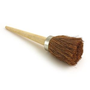 Short Wooden Handled Tar Brush