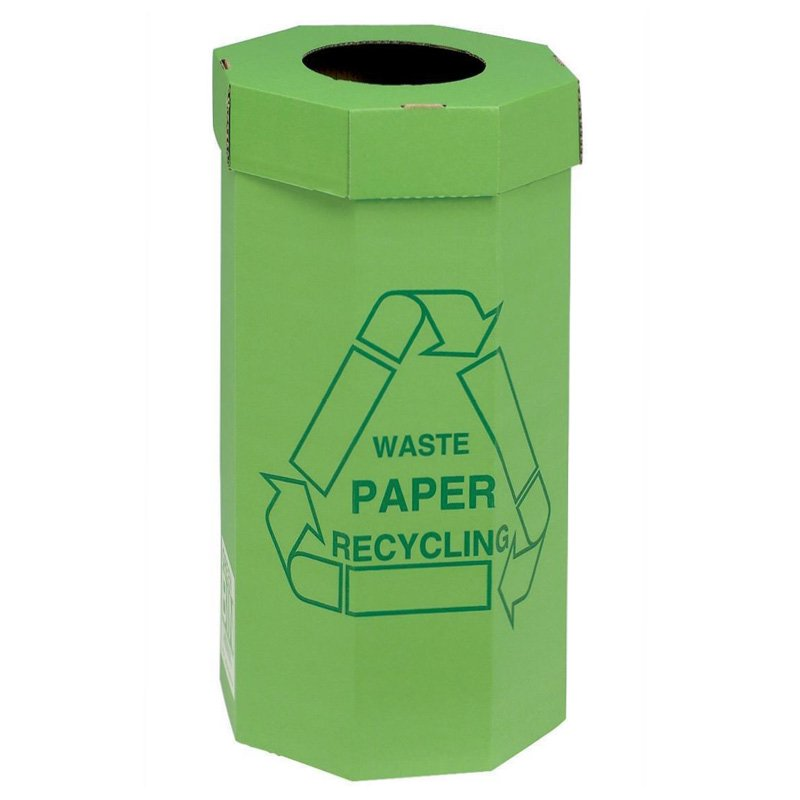 60 Litre Waste Paper Recycling Bins (Pack of 5)