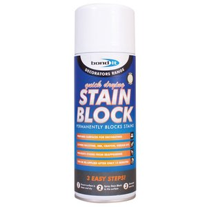 Stainblock 400ml Aerosol White Spray Paint