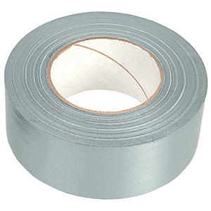 50mmx50m Silver Polycloth (Duct) Tape