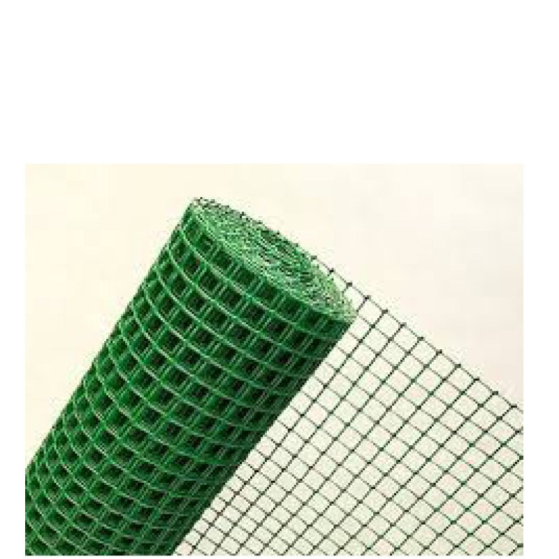 Green Plastic mesh 19x19mm Hole 1m x 20m roll