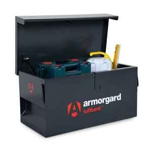 Armorgard TB1 Tuffbank VanBox Security Tool Chest 985Wx540Dx475Hmm - Weight 45kg