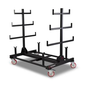 Armorgard PR1 Mobile Pipe Rack, certified 1 tonne capacity - 1000x1500x1560 WxDxHmm