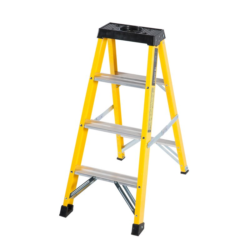 4 Tread Glassfibre Swingback Step Ladders - EN131