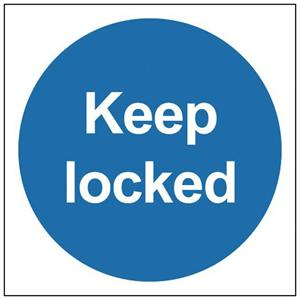 100x100mm Keep Locked - Rigid
