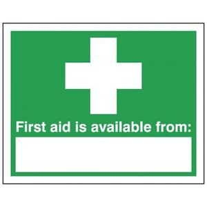 100x250mm First Aid Is Available From - Self Adhesive