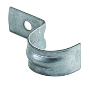 BZP Metal 'P' Saddle Clips