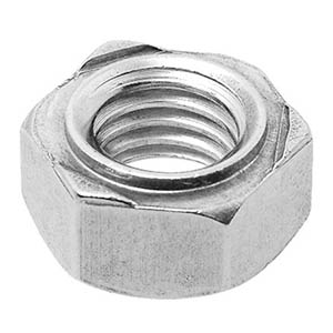 A4 316g Stainless Steel Hex Weld Nuts DIN929