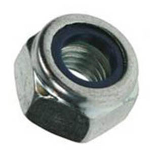 BZP Nylon Insert Nuts - Type T