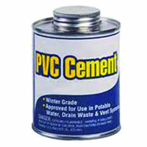 PVC Solvented Pipe Cement