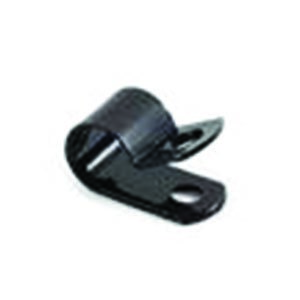 Black Nylon P Clips