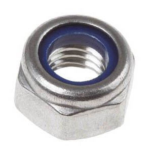 Flanged Nylon Insert Nuts