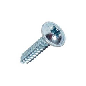 BZP Flange Head Pozi Self Tapping Screws