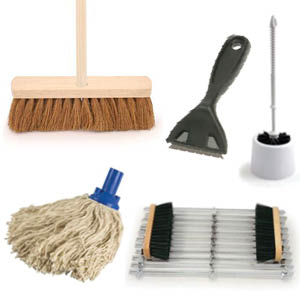 Brushes / Mops / Scrapers