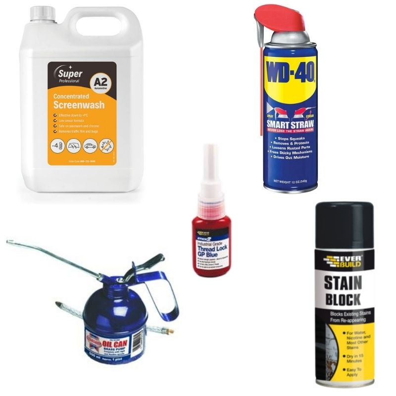 Lubricants, Oils & Paints